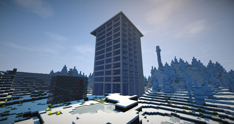 Minecraft hotel building only one command